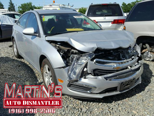 Martins Auto Salvage >> 2016 Chevy Cruze Limited LT (FOR PARTS) - Martin's Auto ...