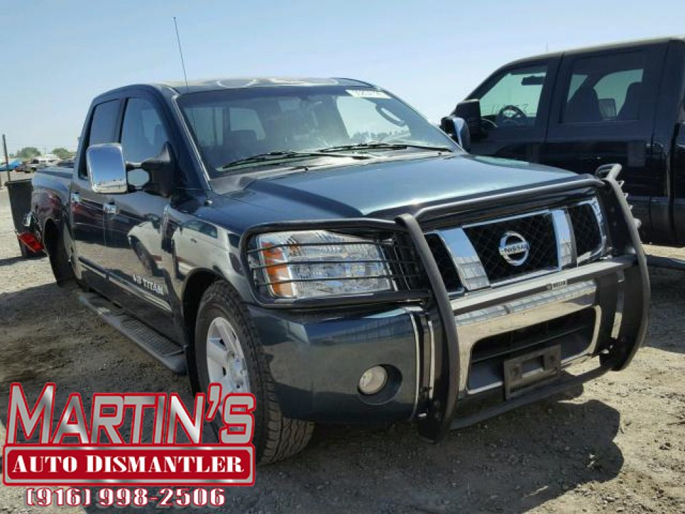 2005 NISSAN TITAN XE (FOR PARTS)