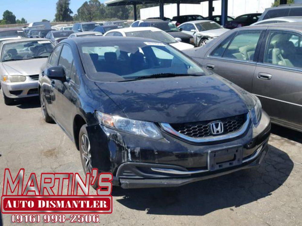 2013 HONDA CIVIC EX  (FOR PARTS)