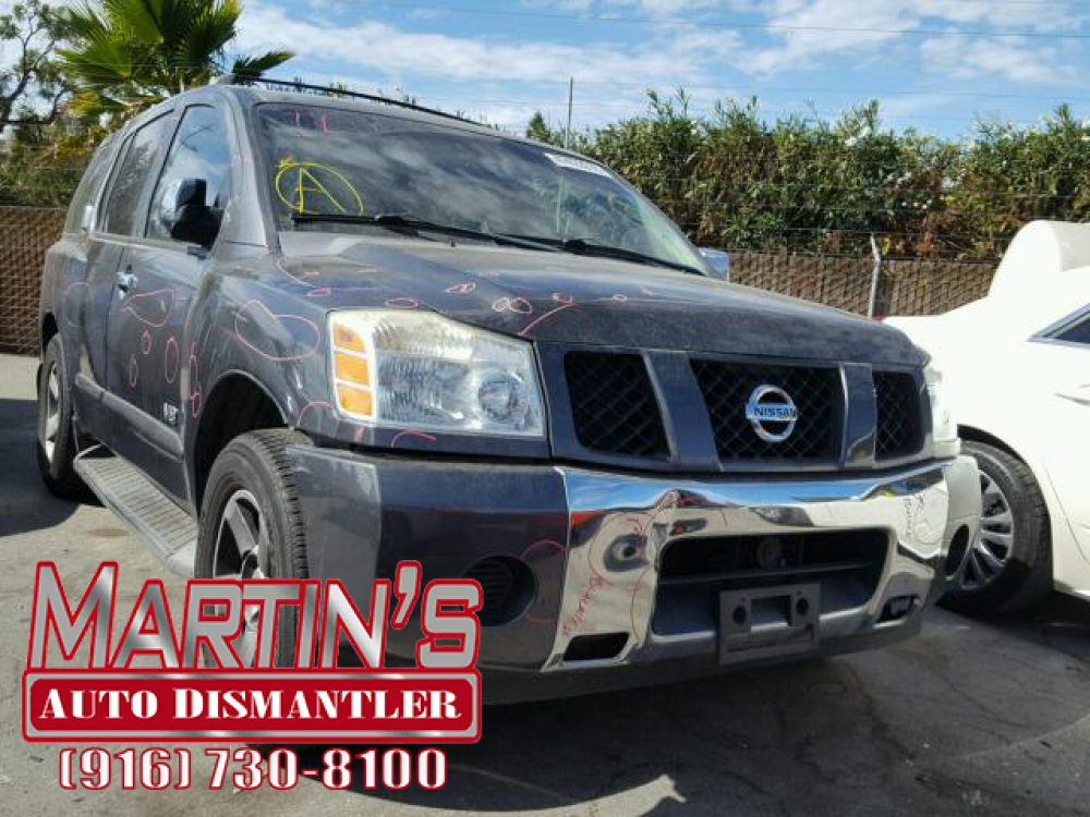 2007 Nissan Armada SE (FOR PARTS)