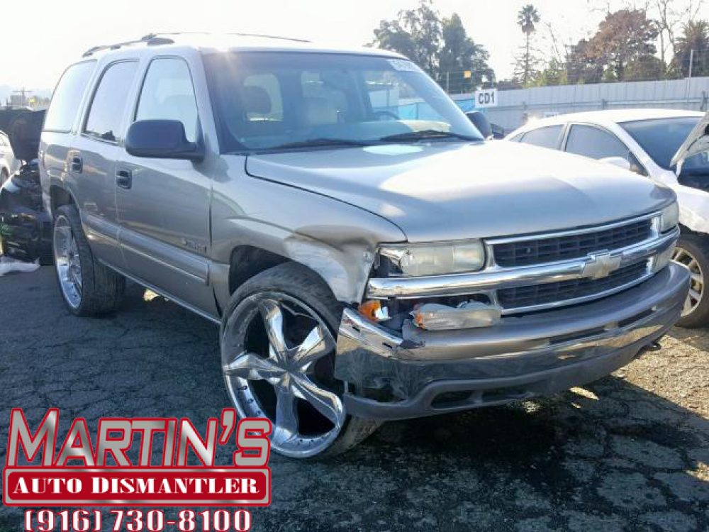 Martins Auto Salvage >> 2000 Chevy Tahoe K1500 For Parts Martin S Auto Dismantler