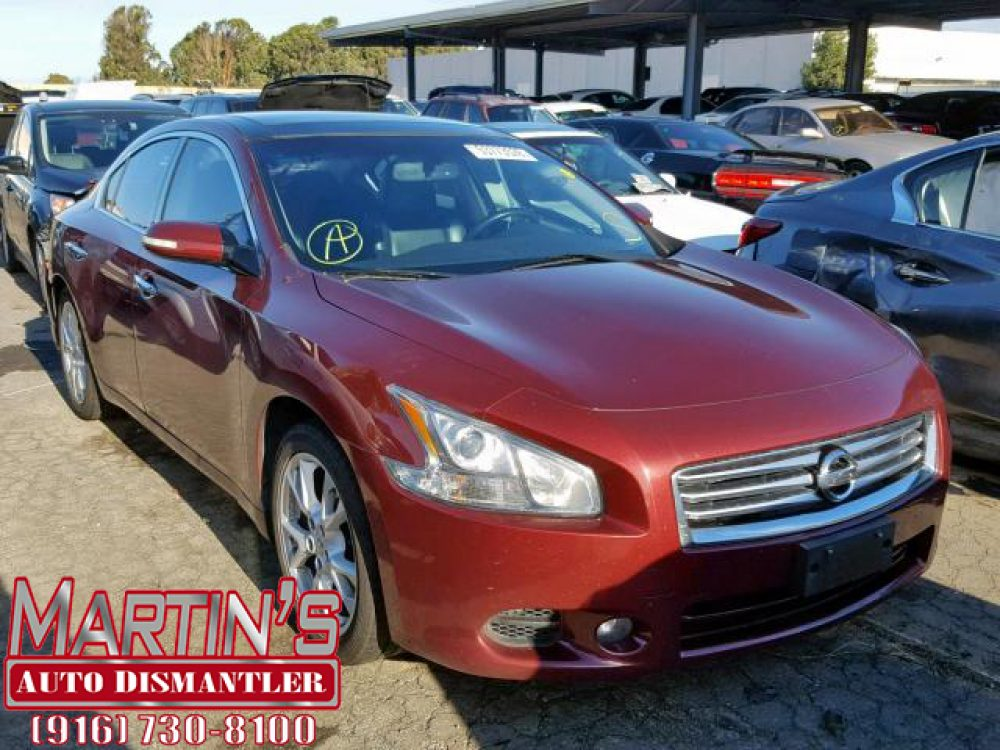 2012 Nissan Maxima S (FOR PARTS)