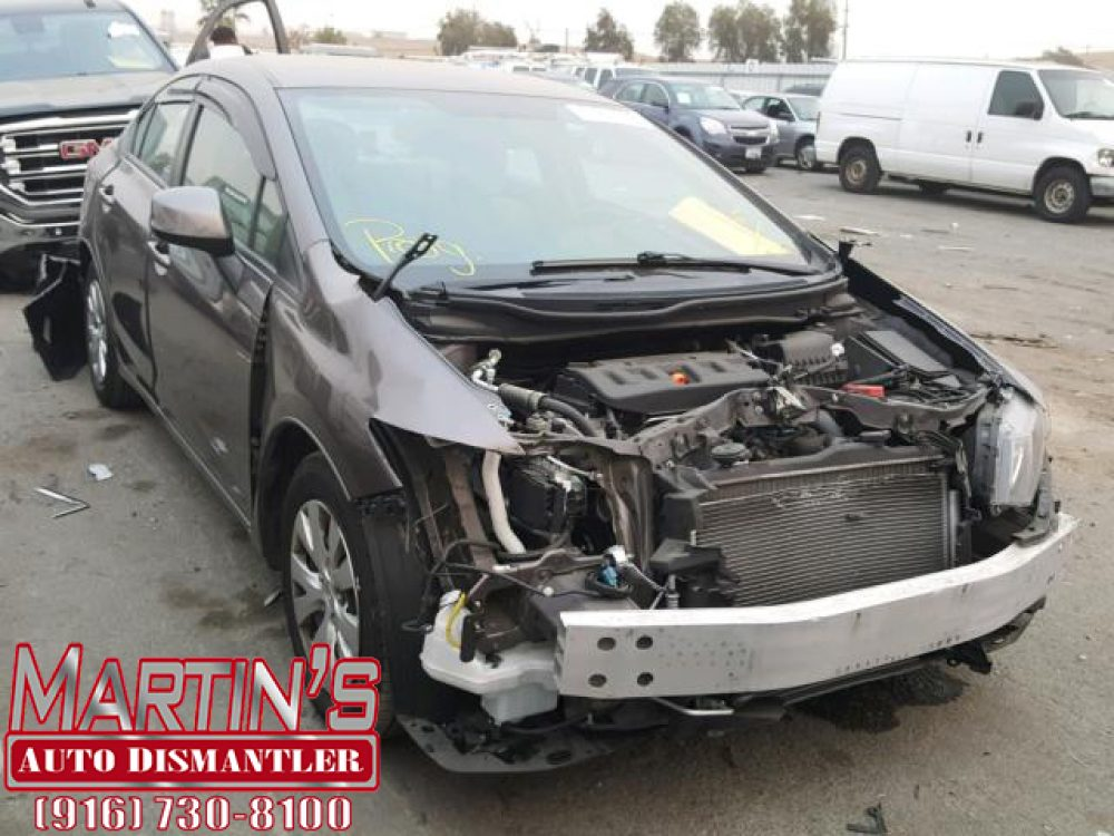 2012 Honda Civic LX (FOR PARTS)