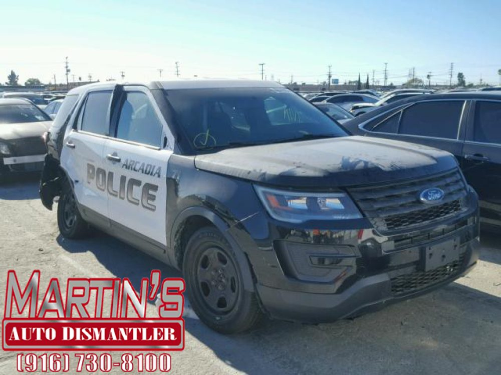 2017 Ford Explorer Police Interceptor (FOR PARTS)
