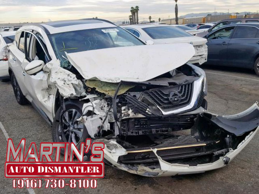 2018 Nissan Murano S  (FOR PARTS)