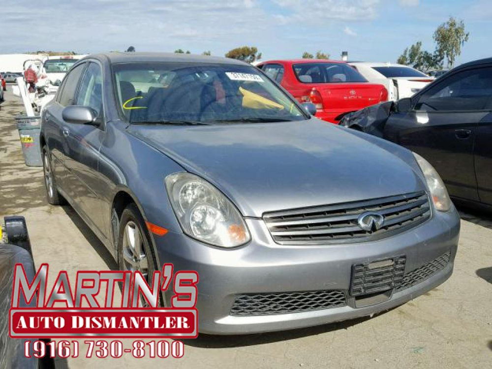 2005 Infiniti G35 (FOR PARTS)