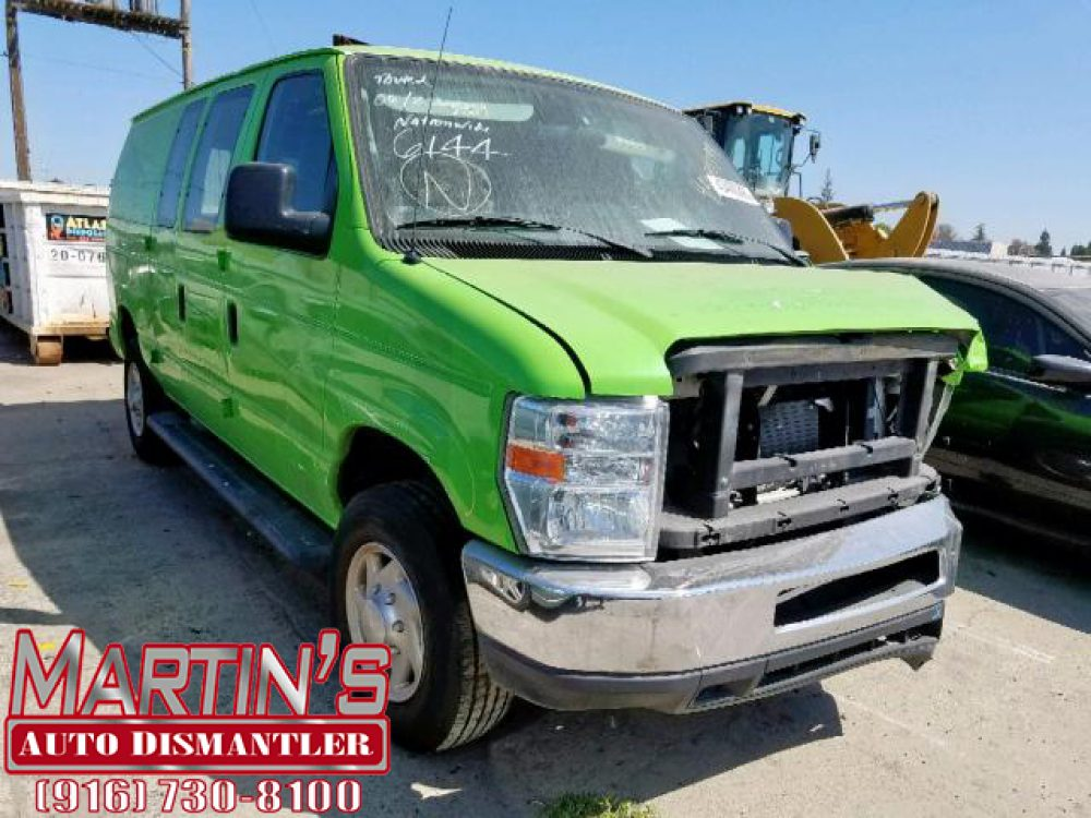 2012 Ford Econoline E250 VAN (FOR PARTS)