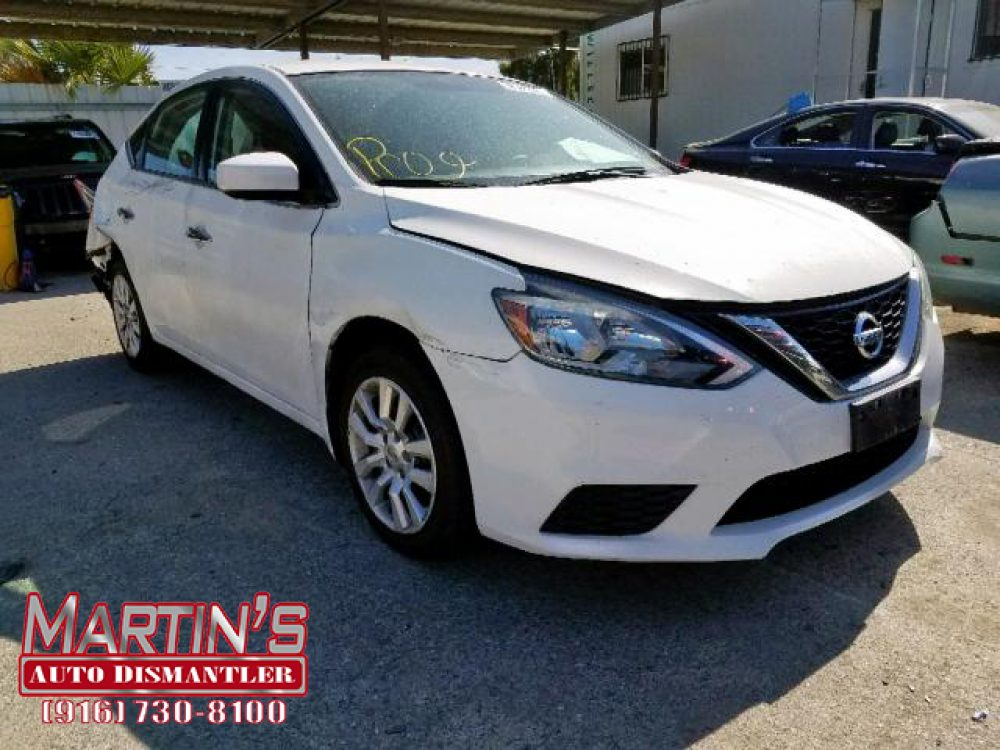2016 Nissan Sentra S (For Parts)
