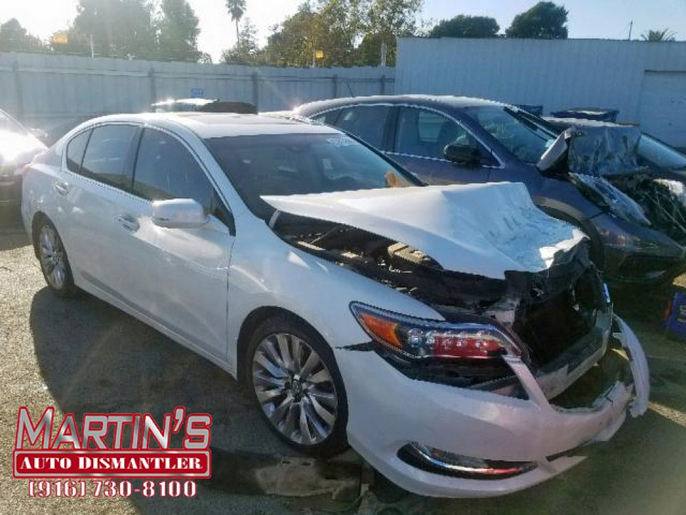 2014 Acura RLX Tech (For Parts)